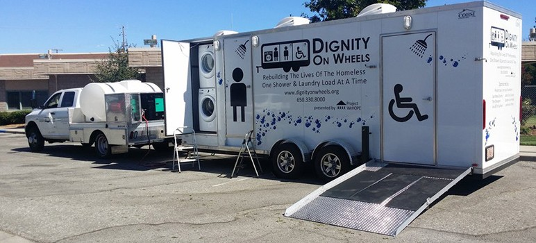 Sunnyvale Welcomes Mobile Showers For The Homeless San Jose Inside