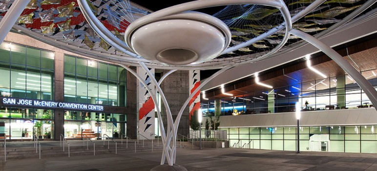 San Jose's McEnery Convention Center will host the state Democratic convention this weekend. (Photo courtesy of SanJose.com)