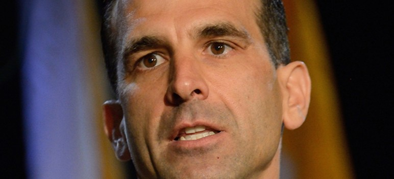 San Jose Mayor Sam Liccardo sent a pointed letter Monday to Water District Chair John Varela. (Photo by Greg Ramar)