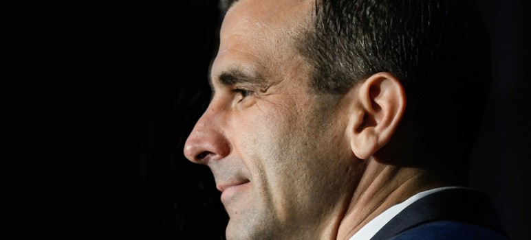 After a citizen initiative proposed upping the city's business tax, Mayor Sam Liccardo proposed an alternative proposal. (Photo by Greg Ramar)