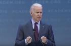 Vice President Joe Biden delivered the keynote address at last month's California Democratic Convention. (Screenshot via YouTube)