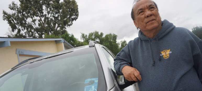 Constante Yanos, 72, lost thousands of dollars to wage theft at i2A Technologies, a local semiconductor manufacturer. (Photo by Jennifer Wadsworth)
