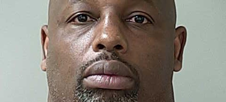 Ex-49er Dana Stubblefield has been accused of raping a disabled woman. (Image via Morgan Hill Police Department)