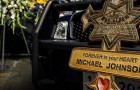 Officer Michael Johnson, who was shot to death on March 24, 2015, became the 12th cop killed in the line of duty in the San Jose Police Department's 166-year history. (Photo by Greg Ramar)