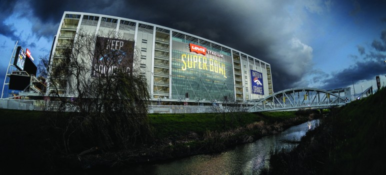 Santa Clara city officials claim that the San Francisco 49ers weren't paying rent on Levi's Stadium when they hosted Super Bowl 50. (Photo by Greg Ramar)
