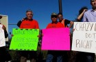Workers protest wage theft in San Jose. (Photo via Santa Clara County Wage Theft Coalition)