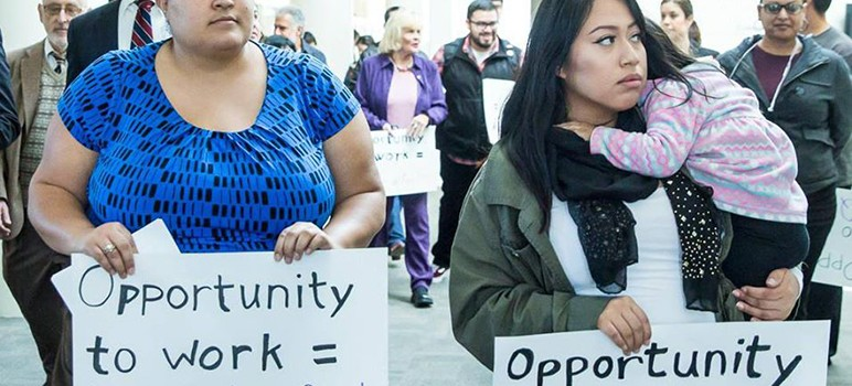 Proponents of the Opportunity to Work initiative say it would boost hours for thousands of part-time employees. (Image via Facebook)