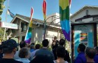 Some 300 people met at San Jose's Billy DeFrank Center Sunday to mourn victim's of the Orlando massacre. (Image via Facebook)