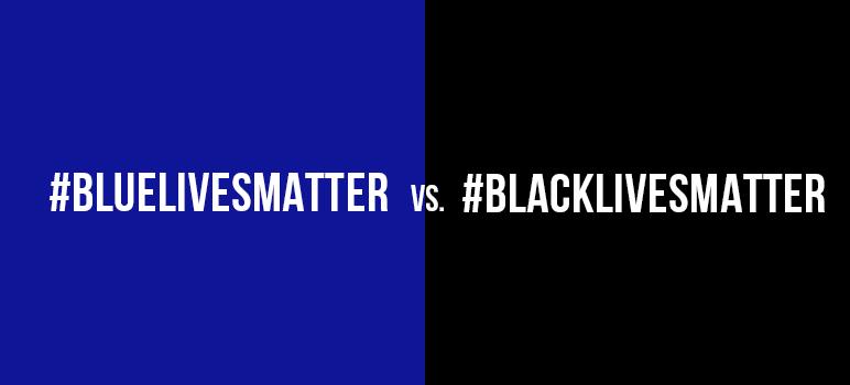 The debate over Blue Lives matter vs. Black Lives Matter misses the point. (Graphic by Kara Brown)