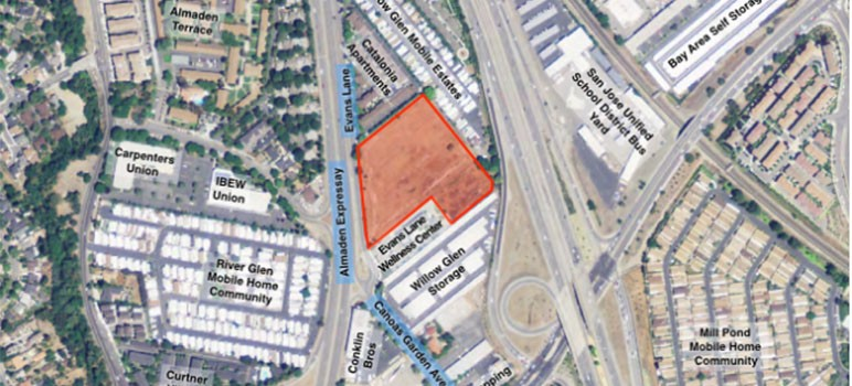 Two very different proposals to house the homeless on Evans Lane go before the San Jose City Council on Tuesday.