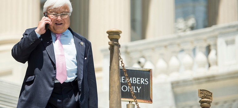 Rep. Mike Honda's ethics scandal is approaching its official one-year anniversary. (Photo by Bill Clark, via CQ Roll Call)