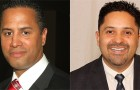 Steve Brown (left) and Sergio Jimenez could not be more different as candidates.