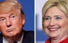 Donald Trump and Hillary Clinton will debate the issues Monday evening. What could go wrong? (Photos by BU Rob13 and Gage Skidmore, via Wikimedia Commons)