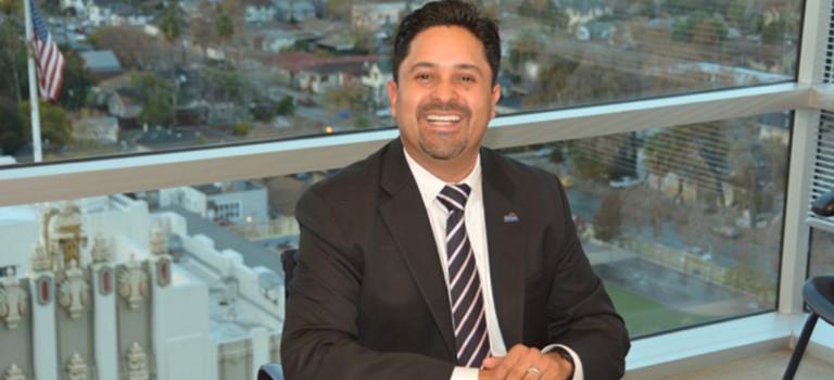 Sergio Jimenez was sworn in a month early to represent San Jose's Edenvale-Santa Teresa council seat.