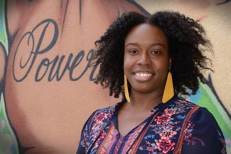 Shauntrice Martin founded the Silicon Valley Urban Debate League after a similar program propelled her through college. (Photo by Greg Ramar)