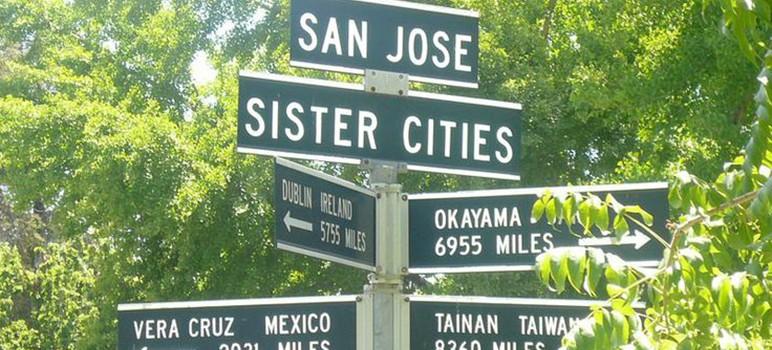 "San Jose has ties with eight international ""sister cities."" (Photo by Krishnakant Swarnkar, via Pinterest)"