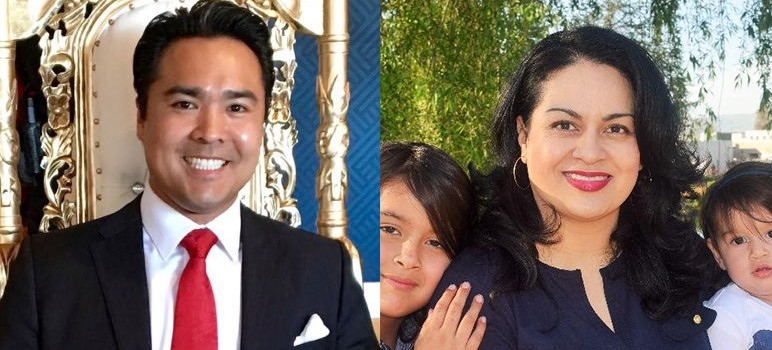 San Jose's District 8 council race between Jimmy Nguyen and Sylvia Arenas is one of six contests that will go to an automatic recount, according to the county Registrar of Voters.