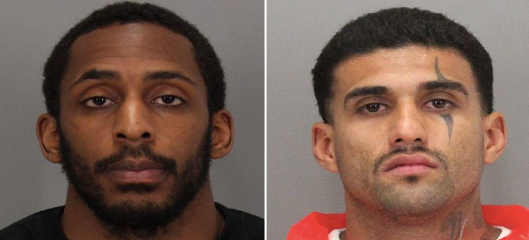 Laron Campbell and Rogelio Chavez (left to right) escaped from San Jose's Main Jail last week.