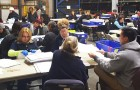 Vote-counters will work around the clock until they re-tally the results in 10 local races. (Photo via Santa Clara County Registrar of Voters)