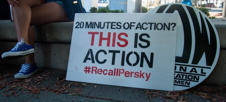 Judge Aaron Persky was cleared of misconduct, but his critics will continue the campaign to recall him from the bench. (Photo by Taylor Jones)