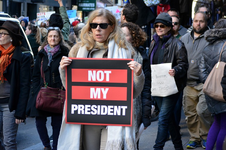 Donald Trump has turned off millions of women voters with his offensive comments during the campaign. (Photo by Christopher Penler, via Shutterstock.com)