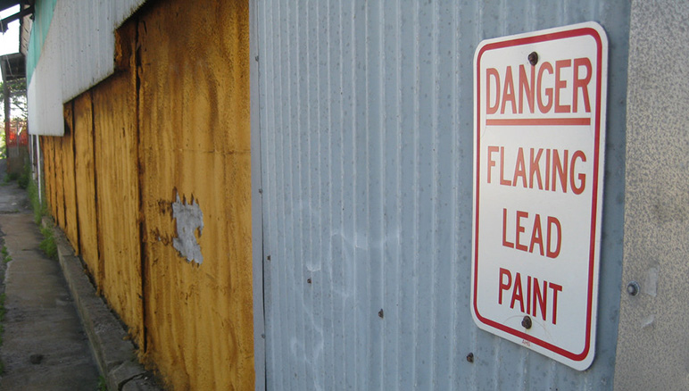 Report dangerous lead levels found in san jose s east for What are the dangers of lead paint