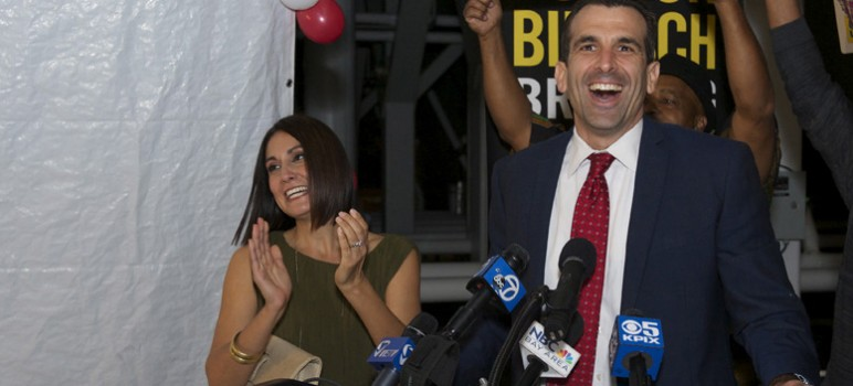 San Jose Mayor Sam Liccardo told San Jose Inside that he intends to skip Donald Trump's swearing-in ceremony. (File photo)