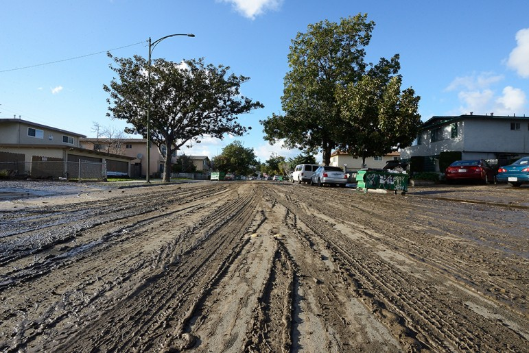 Property damage in San Jose has been estimated at $73 million, according to a city request for disaster relief. (Photo by Greg Ramar)