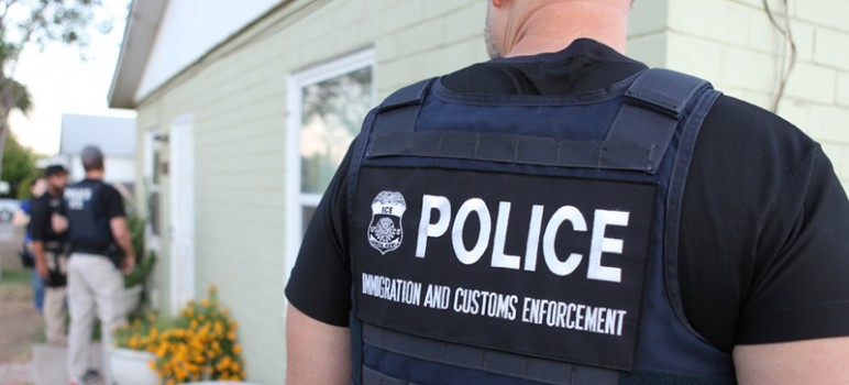 Reports of immigration raids across the country have raised tensions in immigrant communities. (Photo by U.S. Immigration and Customs Enforcement, via Wikimedia Commons)