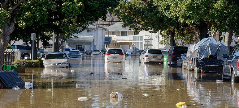 San Jose's City Council intends to ask for state and federal funding to help recover from last week's flooding. (Photo by Greg Ramar)