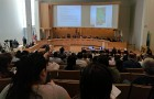 Residents packed City Hall Thursday for the first public hearing about the Coyote Creek flood.
