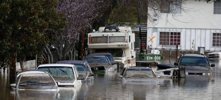FEMA announced this week that it would provide funding for victims of the February floods, which devastated several San Jose neighborhoods. (Photo courtesy of Goodwill of Silicon Valley, via Facebook)