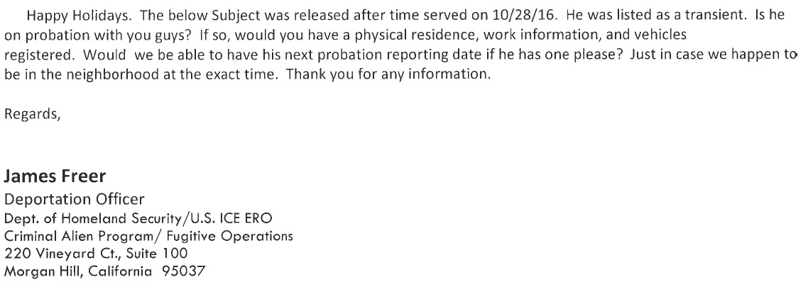 Source: Santa Clara County Probation Department