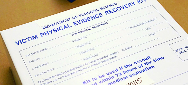 While some local police agencies submit each rape kit to the lab for testing, others grant exemptions for certain cases. (Photo via OJP.com)