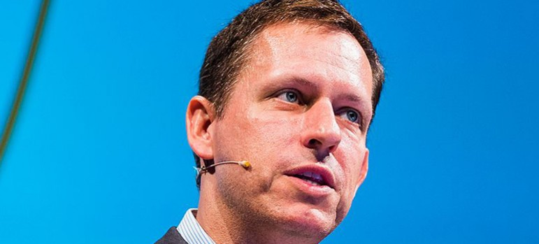 Peter Thiel's interest in extending his life has led to wild speculation on just how far he would go. (Photo by Dan Taylor of  Heisenberg Media, via Wikimedia Commons)