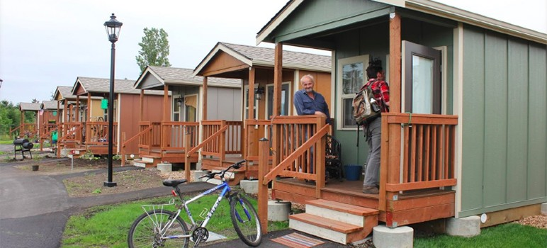 San Jose slashed the number of tiny home sites from 99 to only a few. (Photo via city of San Jose)