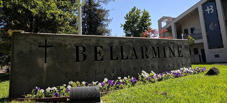 Bellarmine College Prepatory had plans to name a $30 million theater after late teacher Tom Alessandri, but that changed after allegations of abuse surfaced. (Photo by Jennifer Wadsworth)