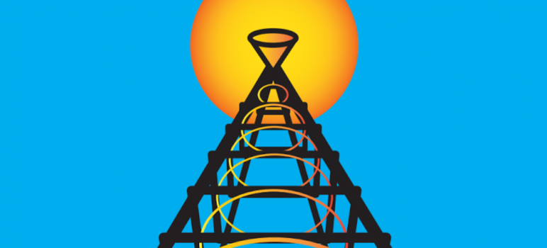 The push to rebuild San Jose's iconic light tower has entered phase one—produce a documentary. The second phase wll consist of design proposals and third, of course, will be construction. (Graphic by Tabi Zarrinnaal)