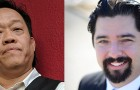 Khan Tran, left, accused Andrés Quintero, his colleague on the Alum Rock Union School District board, of nepotism. Quintero called the charge completely false and accused Tran of slander and negligence.