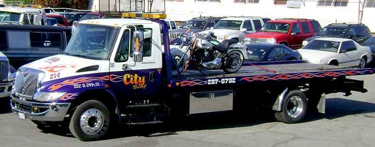 San Jose's City Council on Tuesday will consider whether to give tow companies a huge discount. (Photo via City Towing, Inc.)