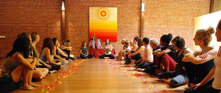 With its lease up, Downtown Yoga Shala is looking for a new home. (Photo via Facebook)