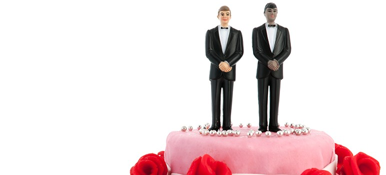 A baker in Colorado refused  to make a wedding couple for a gay couple, citing his religious beliefs as the justification. The case has now moved on to the U.S. Supreme Court, and Santa Clara County has filed an amicus brief in support of the couple's claim. (Photo via Shutterstock)