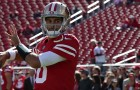 Jimmy Garoppolo performed well in garbage time against the Seattle Seahawks and looks poised to start against the Chicago Bears. (Photo courtesy of 49ers.com)