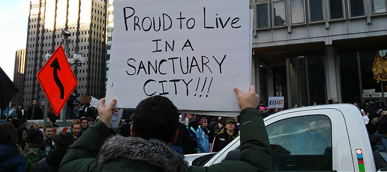 A judge agreed with Santa Clara County's claim that President Trump's sanctuary city order was unconstitutional. (Photo by 7beachbum, via Wikimedia Commons)