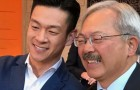 Silicon Valley Assemblyman Evan Low (left) took to Facebook this morning to offer his condolences to the family of S.F. Mayor Ed Lee.  (Photo via Facebook)