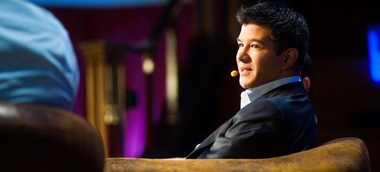 "Uber's former ""bad boy"" CEO Travis Kalanick was one of many Silicon Valley scions forced to resign this past year over allegations of workplace sexual harassment. (Photo by Kmeron, via Flickr)"