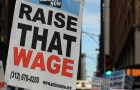 "The ""Fight for $15"" campaign has led to minimum wage increases throughout Silicon Valley and beyond. (Photo by Anna Waters, via Flickr)"