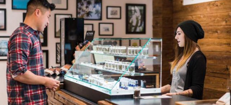 Assemblyman Rob Bonta wants to remove at least one cost of doing business in the newly expanded recreational cannabis market. (Photo courtesy of Caliva Cannabis Dispensary, via Facebook)