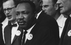 Dr. MartinLuther King Jr. at the 1963 Civil Rights March on Washington, D.C. (Photo via Wikimedia Commons)