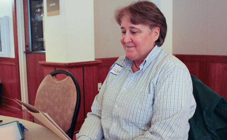 Glenne McElhinney, a lifelong LGBTQ activist.